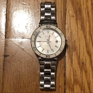 Fossil Silver Women's Watch AM4279